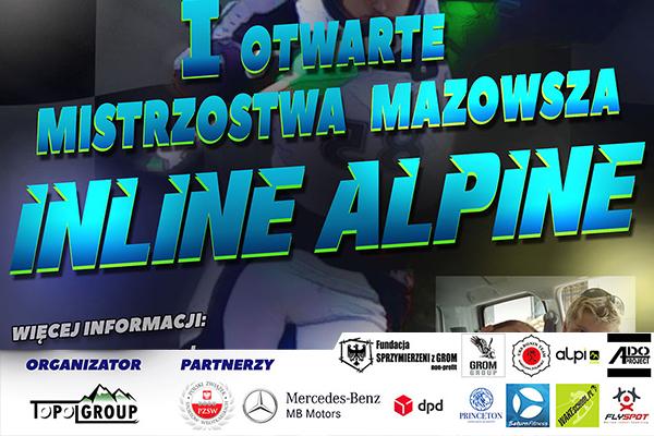 Princeton partnerem - Mistrzostw Mazowsza INLINE ALPINE